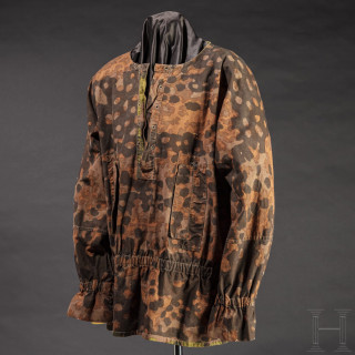 """A lace-up shirt M 40 in smoke pattern, known as """"blurred edge"""""""