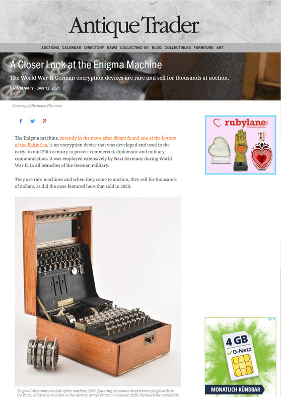 """A Closer Look at the Enigma Machine"""