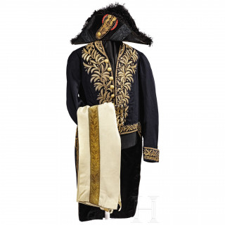 Count Méjan - a diplomatic uniform, 2nd half of the 19th century