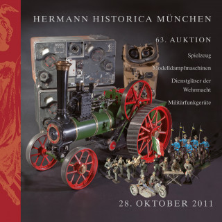 Composition Figures and Toys, Scale Steam Engines Models, Wehrmacht Binoculars, Military Radio Technology