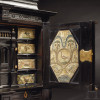 A museum-quality ebony cabinet, Antwerp