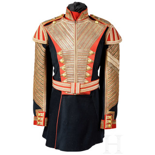 The rarest uniform of the Russian Imperial Army - Drummer of the Company of Palace Grenadiers (Golden Company), circa 1906