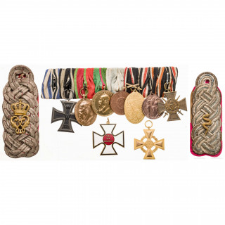An eight place medal from a Bavarian officer