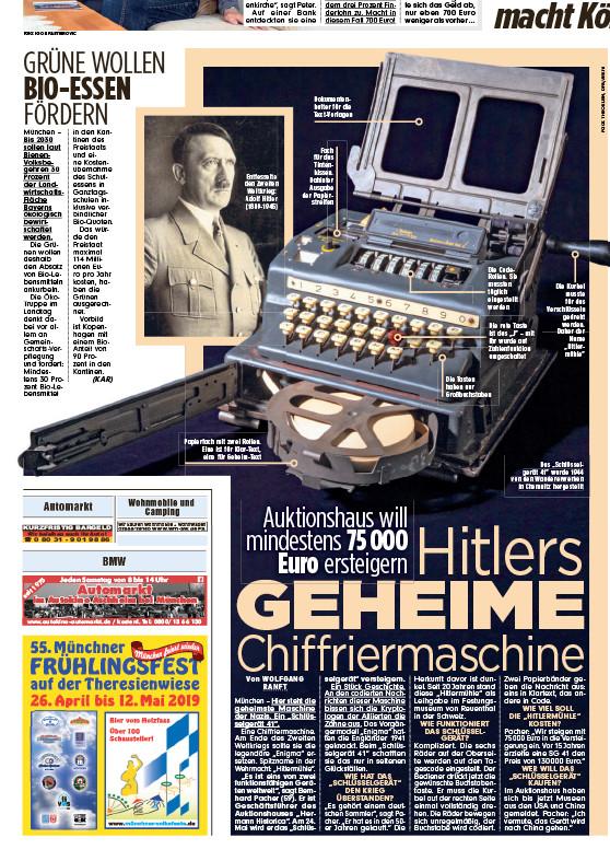 """""""Hitlers geheime Chiffriermaschine"""""""
