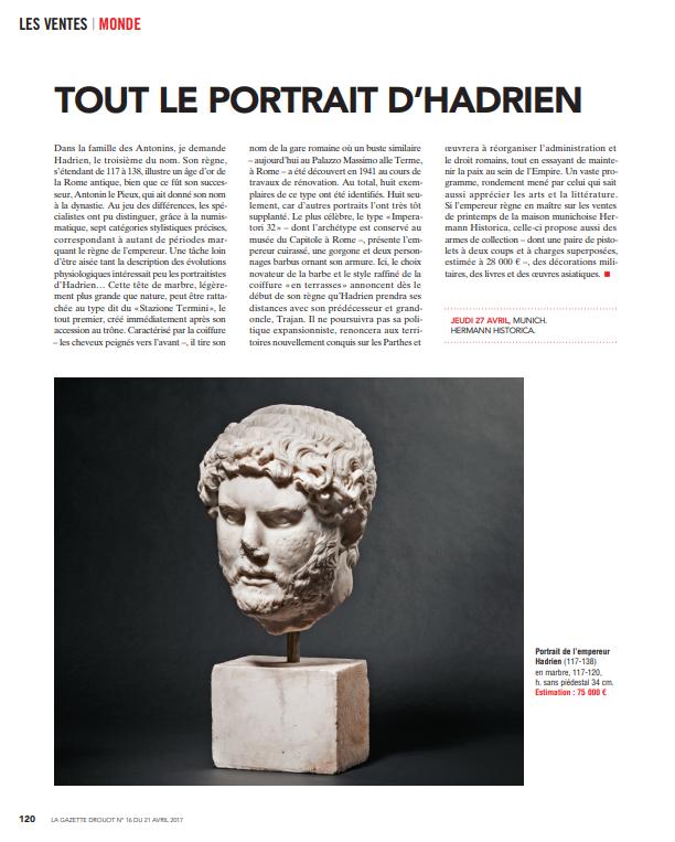 """""""Tout le Portrait D'Hadrien"""""""