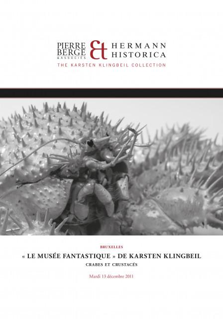 Le musée fantastique de Karsten Klingbeil - crabes et crustacés