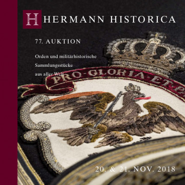Orden & militärhistorische Sammlungsstücke (inkl. Deutschland bis 1918)