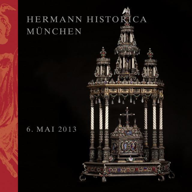 Reliquiar nach dem berühmten Vorbild in der Heilig-Blut-Kapelle zu Brügge