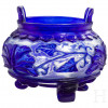 """A glass koro, so called """"Ting"""", Chien-Lung mark, probably 19th century"""