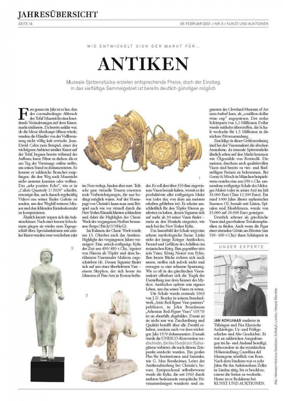 """""""Wie entwickelt sich der Markt für ANTIKEN"""""""