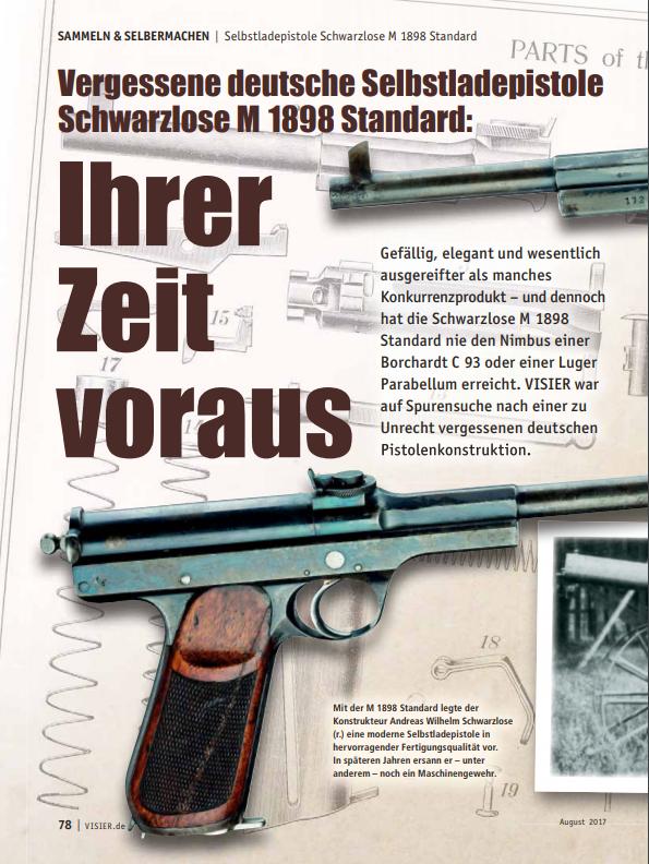 """""""Ihrer Zeit voraus - Vergessene deutsche Selbstladepistole"""""""